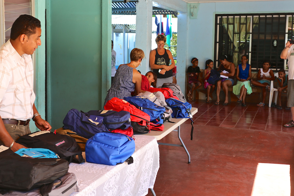 Playa Hermosa School Back Pack Program 2016