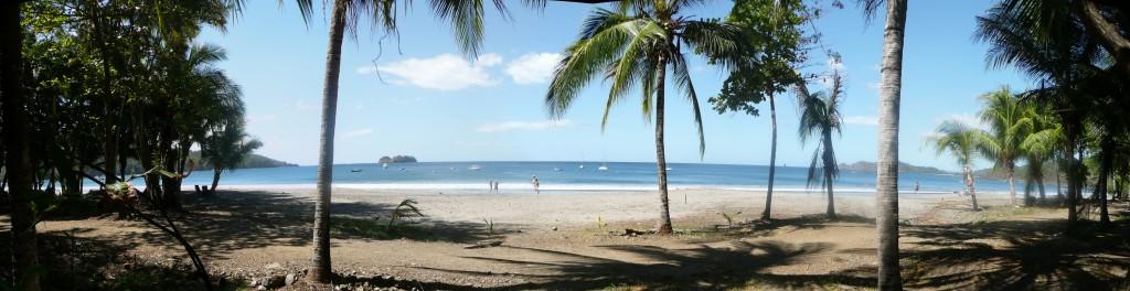 Playa Hermosa beachfront Panorama from Costa Rica Information