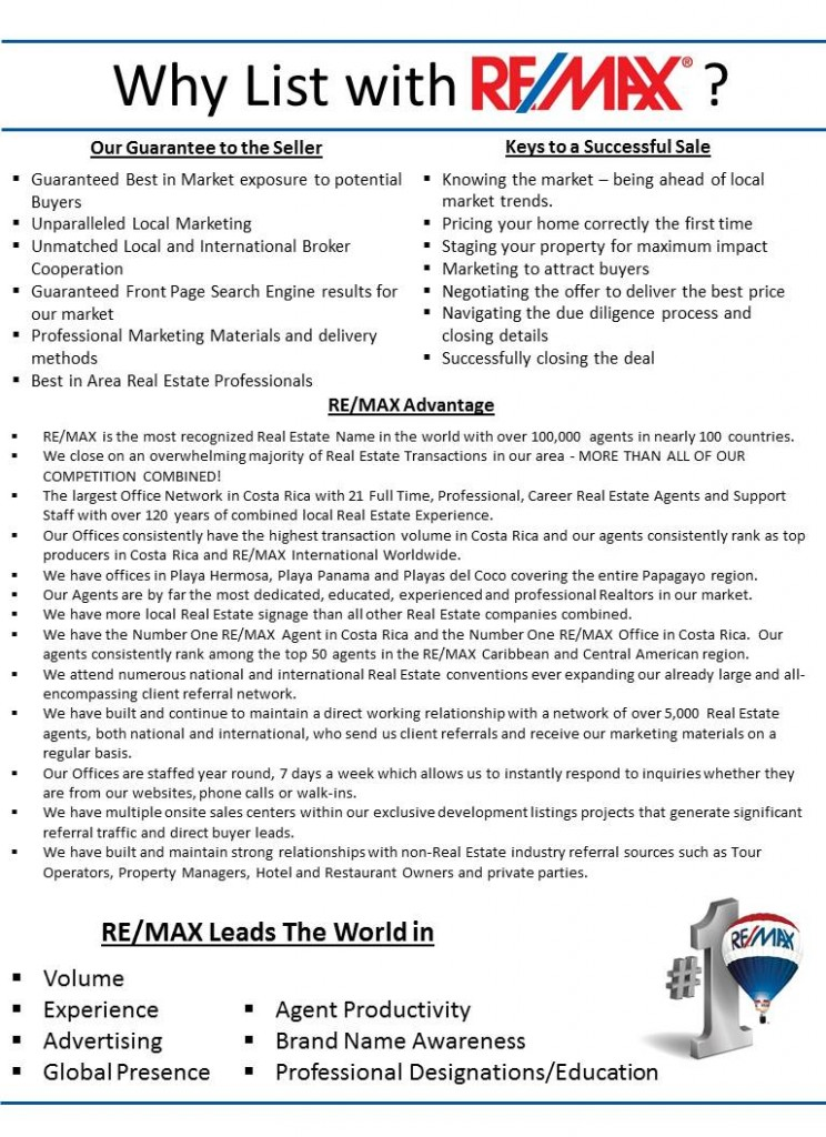 Why List with RE/MAX