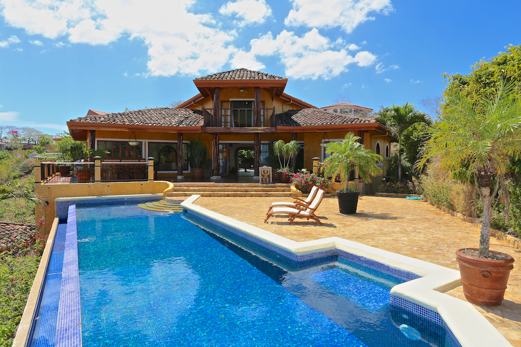 Buying Property in Costa Rica includes homes with pools