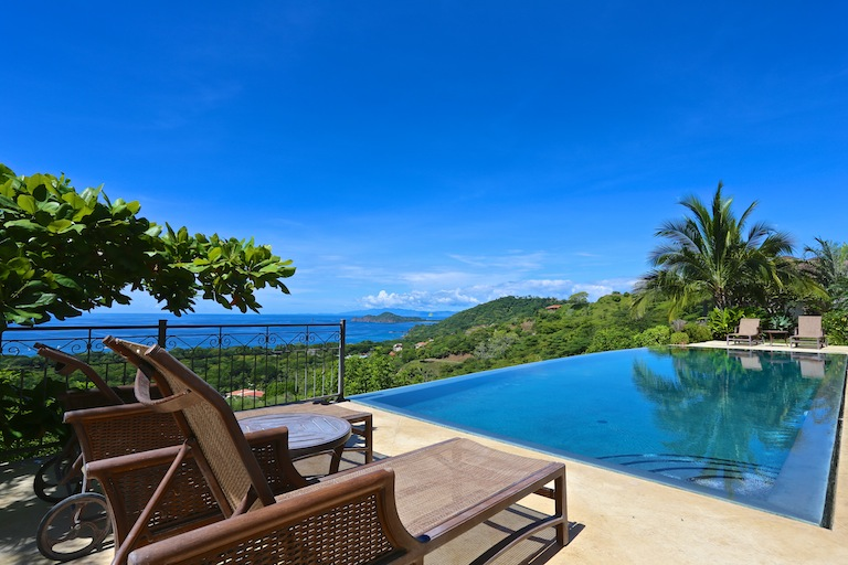 moving to Costa Rica to an oceanview home with a pool