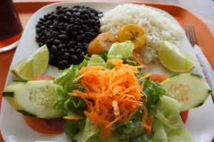 Casado - food in Costa Rica 2