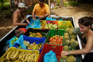Fresh food in Costa Rica