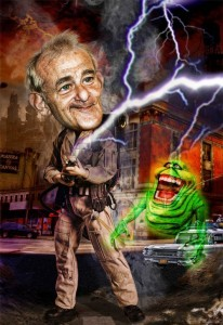 Bill-Murray-Ghostbuster-Caricature---76714