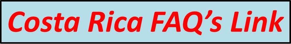 Costa Rica FAQ
