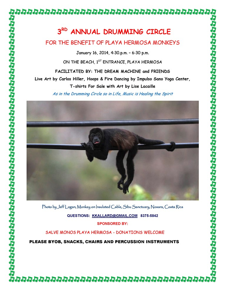 Save the Costa Rica Monkeys