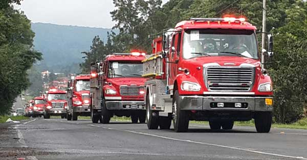 New Fire Trucks Costa Rica