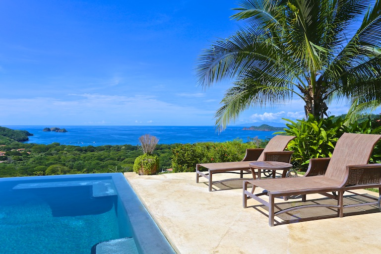 Ocean view home on the Costa Rica real estate market