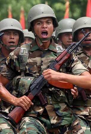 Soldier Nicaragua