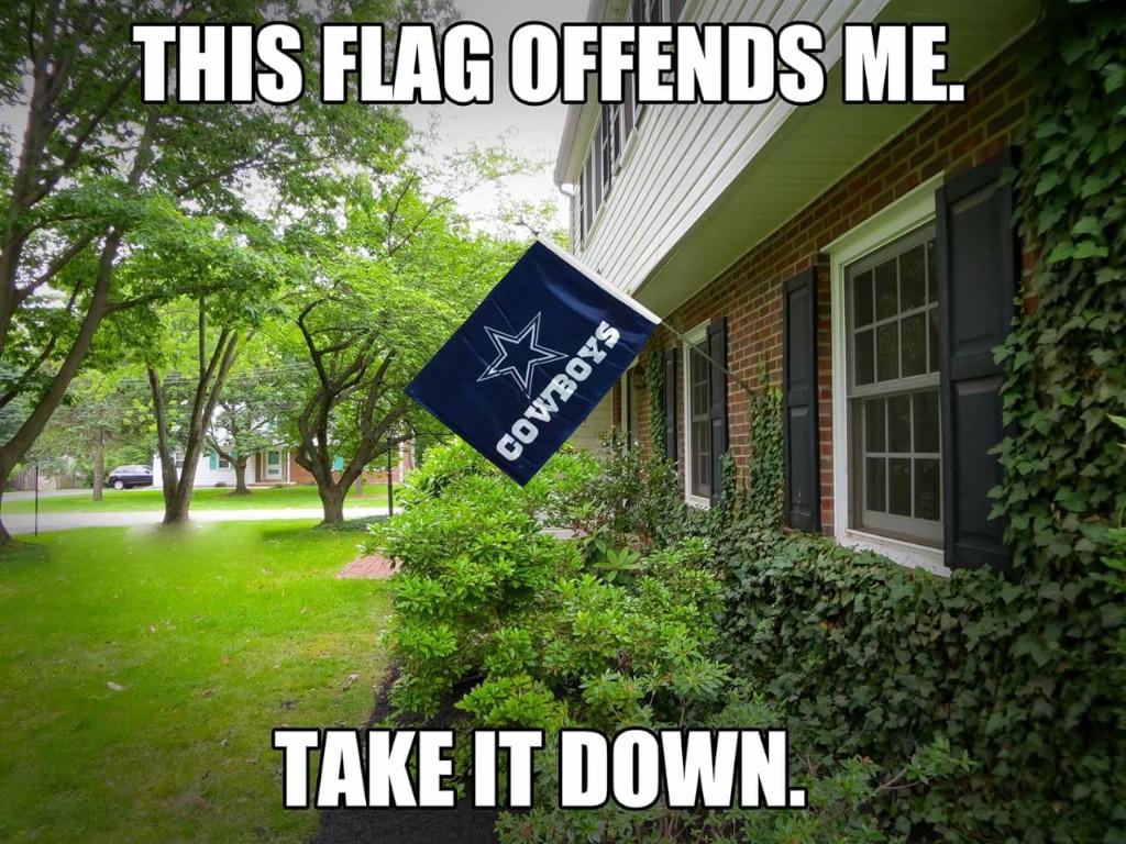 Dallas Cowboy Flag 001