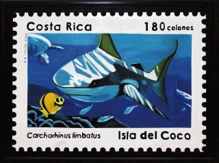 Costa Rica mail stamp