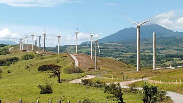 Wind Turbines Guanacaste