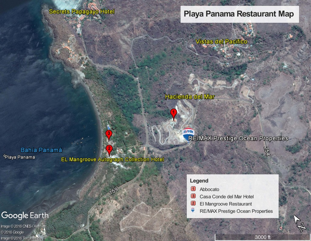 Papagayo Area Restaurant Guide
