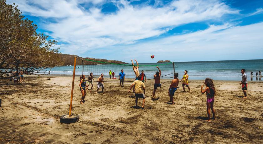 Living in Costa Rica includes beach volleyball 91