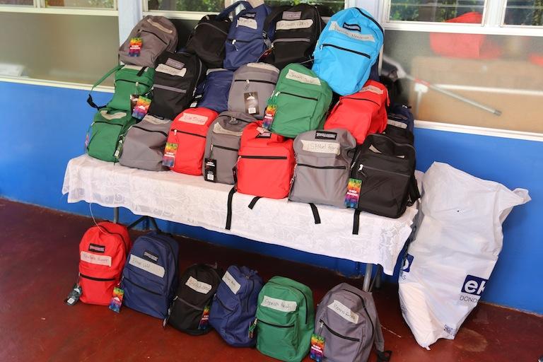 Playa Hermosa School Backpack Program 2017