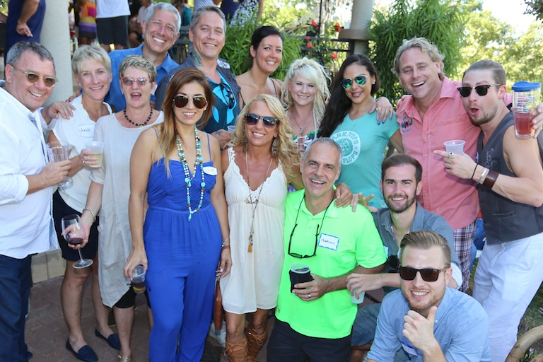 michael simons 10th annual party