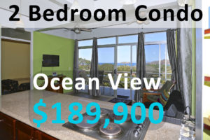 Ocean view condominium is a Costa Rica investment property