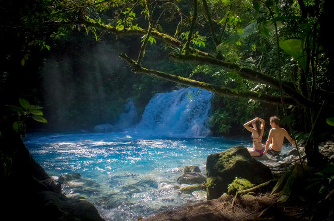 Sensoria Costa Rica waterfall and pool